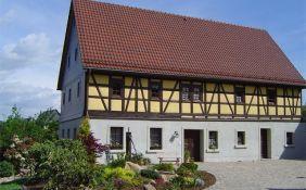 Sanierte Fachwerkfassade in Mülsen (denkmalschutzgerecht)