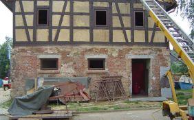 Sanierung Fachwerkfassade in Mülsen (denkmalschutzgerecht)