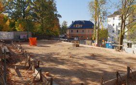 Tagespflege GC Vorbereitung Bodenplatte - Oktober 2018
